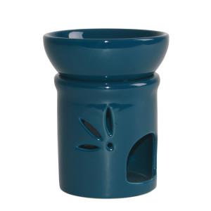 Duftlampe DUO petrol Keramik 2teilig, H: 11 cm Ø 9 cm