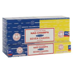 Satya Combo Pack Nag Champa und Seven Chakras...