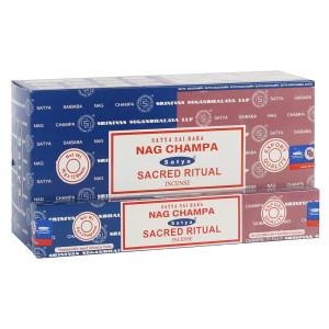 Satya Combo Pack Nag Champa und Sacred Ritual...