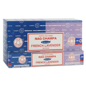 Satya Combo Pack Nag Champa und French Lavender...