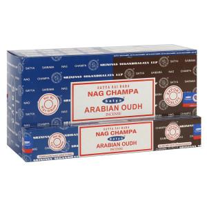 Satya Combo Pack Nag Champa und Arabian Oudh...