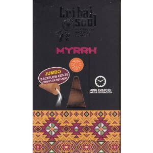 Tribal Jumbo Rückfluss-Räucherkegel - Myrrhe