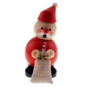 Hess - Räucherfigur Weihnachtsmann mit Sack