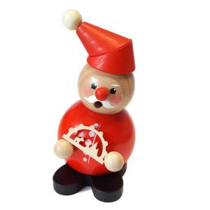 Hess - Räucherfigur Weihnachtsmann mit Schwibbogen