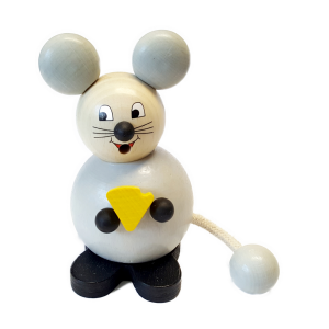 Hess - Räucherfigur, Räucherkugelmann Maus