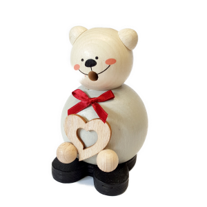 Hess - Räucherfigur, Räucherkugelmann Teddy