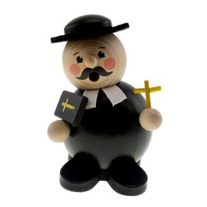 Hess - Räucherfigur, Räucherkugelmann Pastor
