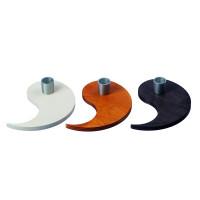 EIN Teil vom Kreis Deines Lebens - Stabkerzenhalter Silber, in 3 Farben erhältlich