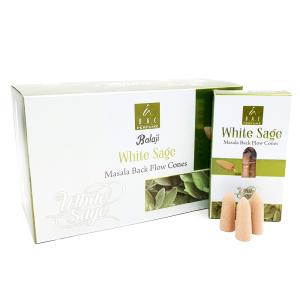 Balaji Malasa Jumbo Rückflusskegel White Sage