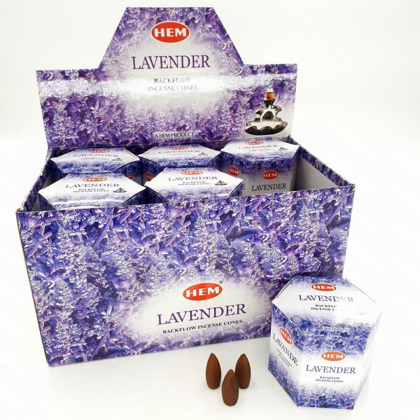 Hem Backflow/Rückflusskegel Lavendel