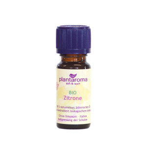 Zitrone - Bio - Plantaroma ätherisches Duftöl