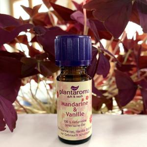 Mandarine & Vanille - Plantaroma Ätherische...