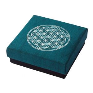 """Geschenkbox """"Blume des Lebens"""" Baumwolle..."""