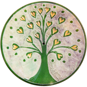 Lebensbaum Herzchen, grün...