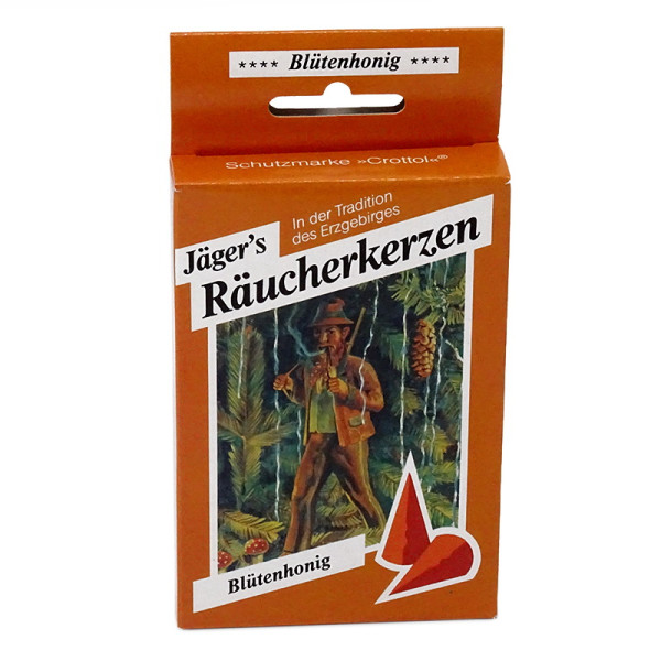 Carl Jäger Räucherkerzen - Blütenhonig - Schachtelware