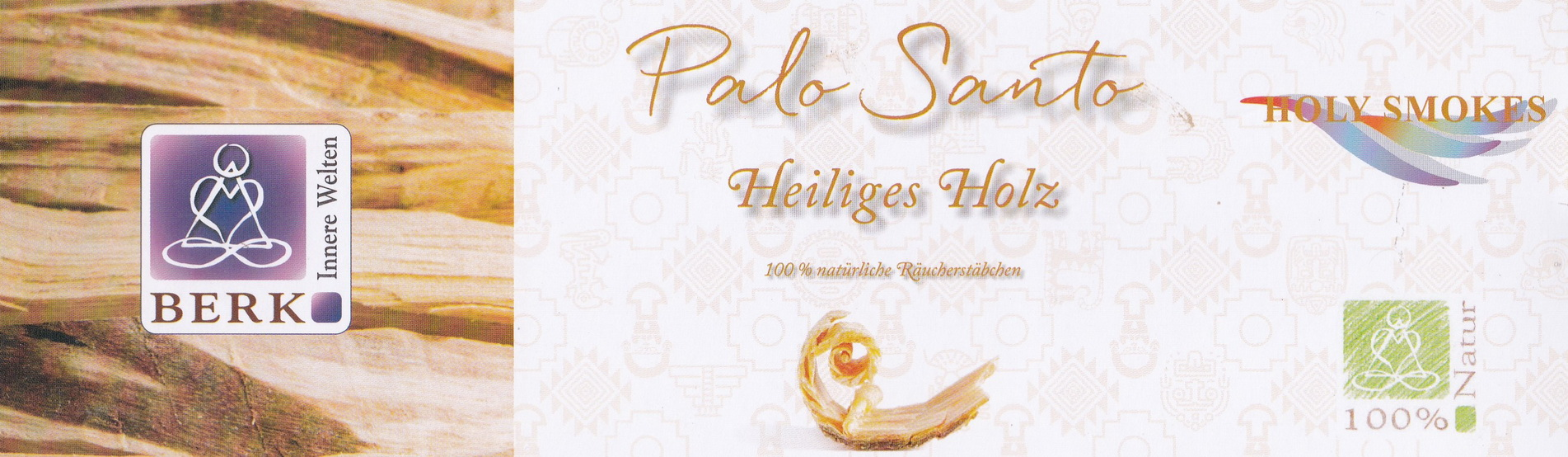 Holy Smokes Palo Santo Räucherstäbchen